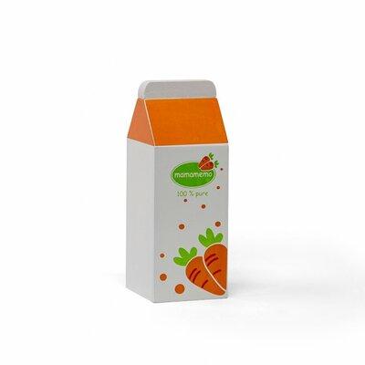Houten fles wortelsap