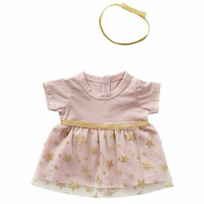 Tutu jurk met haarband 45 cm