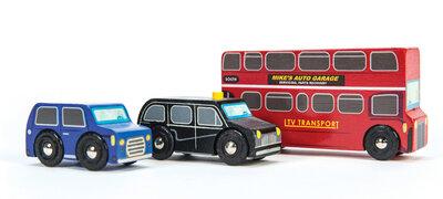 Londen autoset (3 delig)