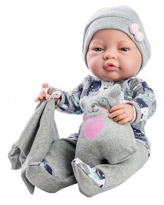 Bebito babypop jongen met knuffel (45 cm)