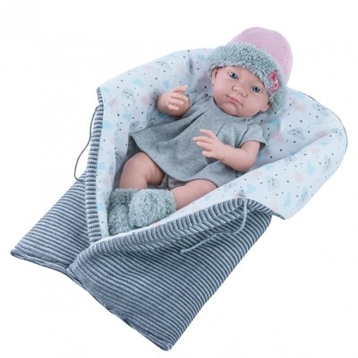Pikolines babypop meisje in draagdoek (36 cm)