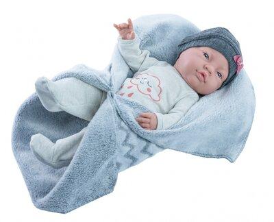 Bebito babypop meisje met doek (45 cm)