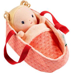 Baby Anais in reiswiegje