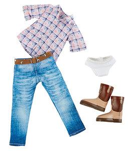 Kruselings kledingset Chloe Riding Cowgirl Outfit