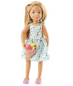 Kruselings pop Vera Sweet Mint Girl (23 cm)