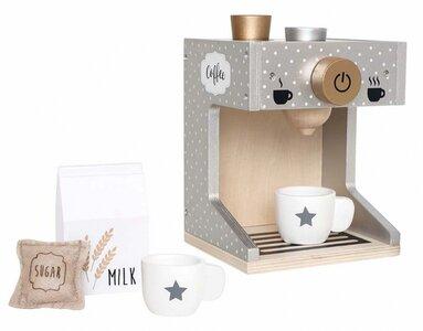 Houten Espressomachine speelset