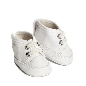 Witte sneakers voor pop (34-36 cm)