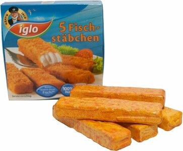 Pakje vissticks van Iglo met 5 stuks vissticks