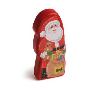 Houten Chocolade Kerstman