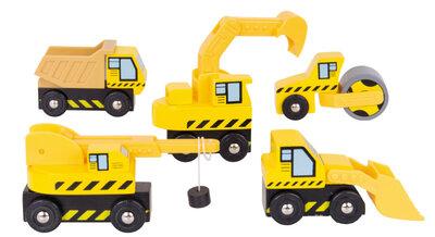 Bouwvoertuigen (5 delig)