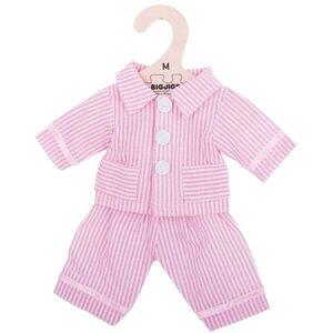 Kledingset 30 cm Roze gestreepte pyjama Medium
