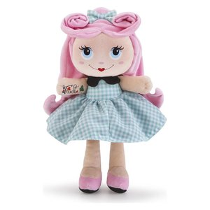 Stoffen pop Sweet Trudimia Tattoo Girl Pink Hair (28 cm)
