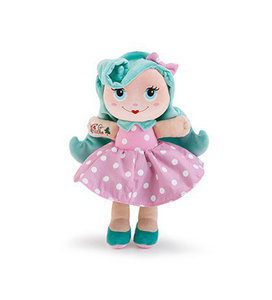 Stoffen pop Sweet Trudimia Tattoo Girl Turquoise Hair (28 cm)