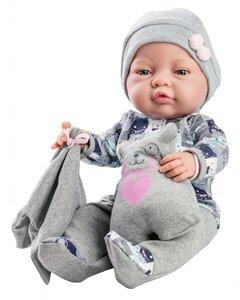 Bebito babypop meisje met knuffel (45 cm)