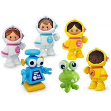 First Friends Space Astronauten (6 delig)