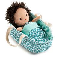 Baby Ari in reiswiegje