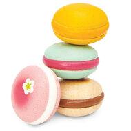 Houten Macarons (4 stuks)