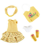 Kruselings kledingset Joy Summer Queen Outfit (23 cm)
