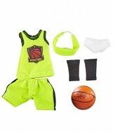 Kruselings kledingset Basketball Star (23 cm)