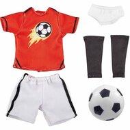 Kruselings kledingset Voetbal (23 cm)